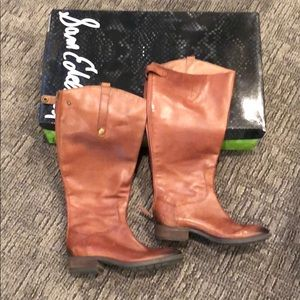 Sam Edelman real leather boots